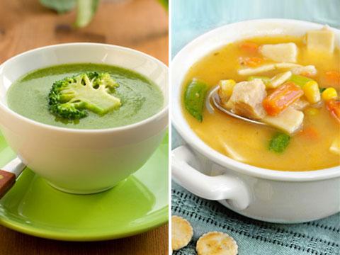 1. Swap your soup